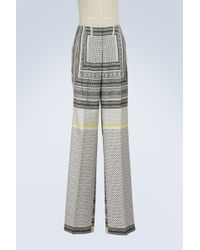 Etro - Silk Pyjama Trousers - Lyst