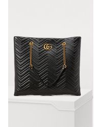 Gucci - GG Marmont Gm Tote - Lyst