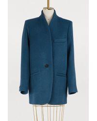 Isabel Marant - Wool And Cashmere Felis Jacket - Lyst