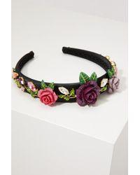 Dolce & Gabbana - Roses Headband - Lyst