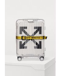 Rimowa - Off-white Essential Suitcase With Wheels - Lyst