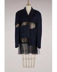 Maison Margiela - Cut-out Wool Jacket - Lyst