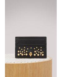 Alexander McQueen - Leather Cardholder - Lyst