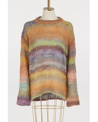 Acne Studios - Multicolored Wool And Alpaca Sweater - Lyst