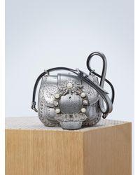 Miu Miu | Dahlia Studded Bag | Lyst
