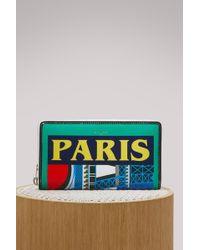 Balenciaga - Paris Zip Around Pouch - Lyst
