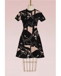 Valentino - Panther Short Sleeves Dress - Lyst