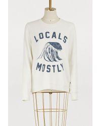 Sol Angeles - Locals Mostly Sweatshirt - Lyst