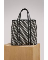 Pierre Hardy | Canvas Cube Calf Tote | Lyst