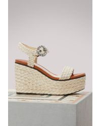 Jimmy Choo - Nylah 100 Sandals - Lyst