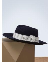 Maison Michel - Virginie Fedora Hat - Lyst