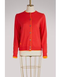 Marc Jacobs - Double-layered Cardigan - Lyst