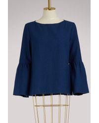 A.P.C. - Shirley Blouse - Lyst