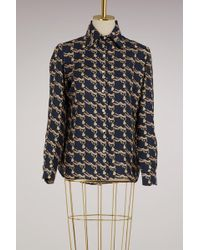 La Prestic Ouiston | Silk Skirt | Lyst