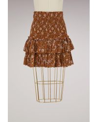 Étoile Isabel Marant - Cotton Naomo Skirt - Lyst