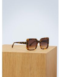 Stella McCartney - Square Sunglasses - Lyst