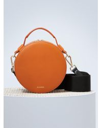 Jil Sander - Drum Leather Bag - Lyst