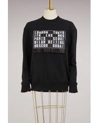 Victoria, Victoria Beckham - Oversized Sweatshirt - Lyst
