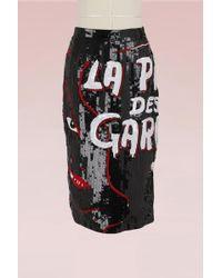 Olympia Le-Tan - La Pire Des Garces Skirt With Sequins - Lyst