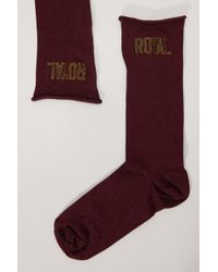 Dolce & Gabbana - Lurex Socks - Lyst