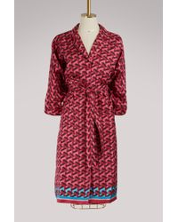F.R.S For Restless Sleepers - Anteros Silk Dress - Lyst