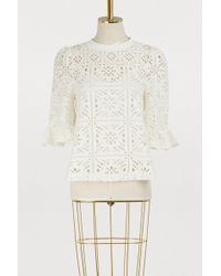 See By Chloé - Openwork Top - Lyst