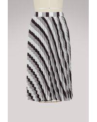 Balenciaga - Sunray Pleated Midi Skirt - Lyst
