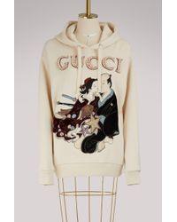 Gucci - Swearshirt Shunga - Lyst