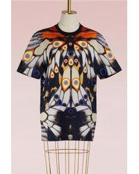 Givenchy - Satin Oversized T-shirt - Lyst