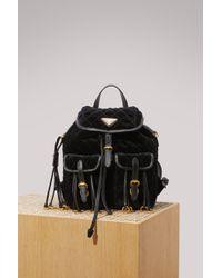 Prada   Velvet Backpack   Lyst