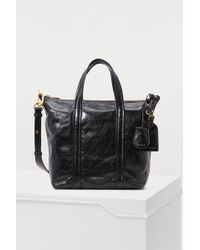 Vanessa Bruno - Zipped Leather Tote Bag - Lyst