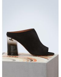 Givenchy - Plexiglass-heeled Slippers - Lyst