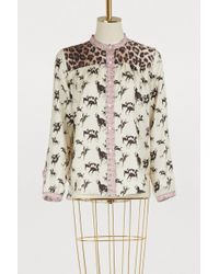 La Prestic Ouiston - Horses And Love Printed Shirt - Lyst