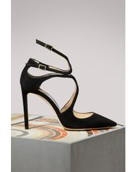 9784070d52a Jimmy Choo 65mm Irena Patent Leather Pumps in Black - Lyst