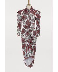 Isabel Marant - Tizy Midi Dress - Lyst
