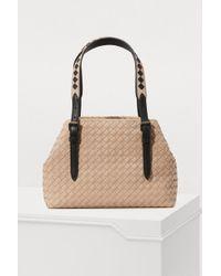 Bottega Veneta - Cesta Mini Handbag - Lyst
