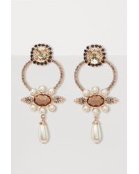 Erdem - Floral Earrings - Lyst