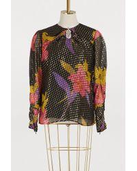Dodo Bar Or - Floral Print Blouse - Lyst
