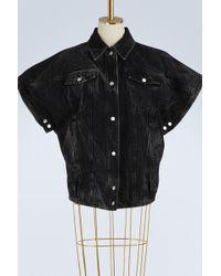 Givenchy - Oversized Denim Jacket - Lyst