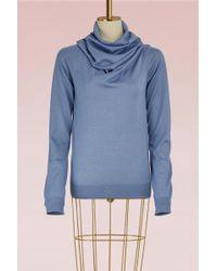 Jil Sander - Wool And Silk Sweater - Lyst