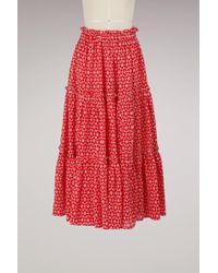 Lisa Marie Fernandez - Ruffle Skirt - Lyst