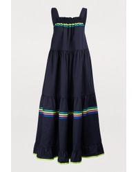 Mira Mikati - Striped Long Dress - Lyst