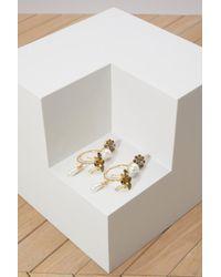 Erdem - Hoop Bee Earrings - Lyst