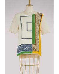 Tory Burch - Short-sleeved Sweatshirt - Lyst