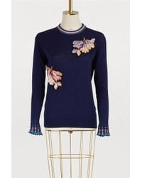 Peter Pilotto - Embroidered Sweater - Lyst