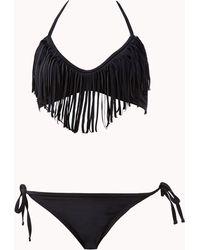 Forever 21 Side-tie Bikini Bottom - Lyst