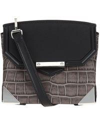 Alexander Wang Marion Croc Shoulder Bag - Lyst