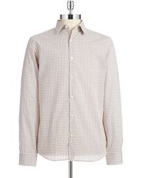 Michael Kors Patterned Sport Shirt - Lyst