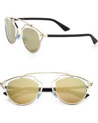 Dior So Real 48mm Pantos Sunglasses - Lyst