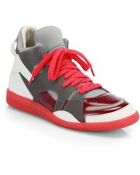 Maison Margiela Cadillac High-Top Sneakers - Lyst